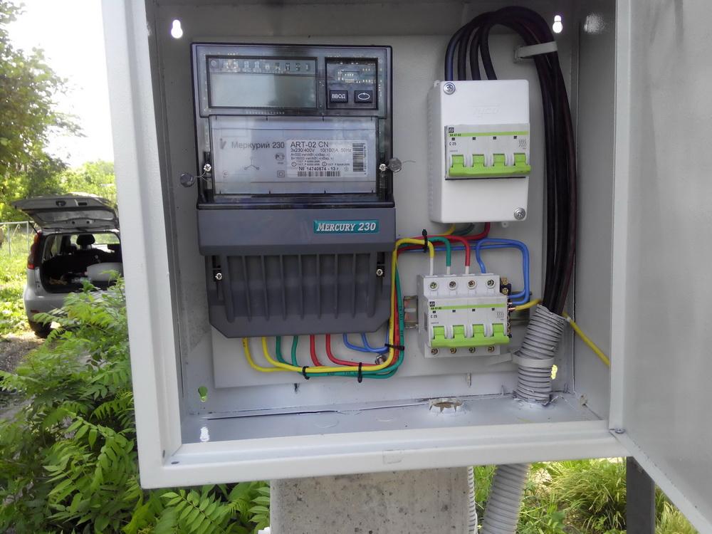 Сборка электрощита в гараж на 220 вольт своими руками 56